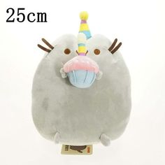 25cm Plush Kawaii Brinquedos New Cat Pusheen Stuffed& anmanls plush toys for baby dolls