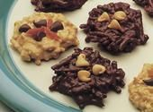 No-Bake Chocolate & Peanut Butter Cookies