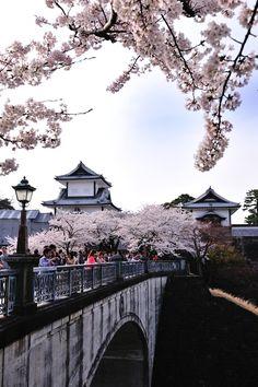 Kanazawa Castle, Ishikawa, Japan #Japaneasy
