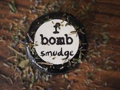 smudge basil sage and mint scented f bomb by fbombswearystuff