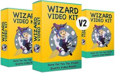 Wizard Video Kit V2 By Deni Iskandar – Discover The Absolute Easiest Way To Create Better and More Creative Videos Using PowerPoint Just in Minutes!   Wizard Video Kit V2 is a huge bundle of 7 Video Kit bundle which comprise of PowerPoint Video Templates, Animated Characters, Static Characters, Stock Images and more! Video Storytelling is one of the most powerful techniques to engage users and turn them into customers