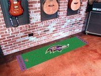 Baltimore Ravens Putting Green Mat. $29.99 Only.