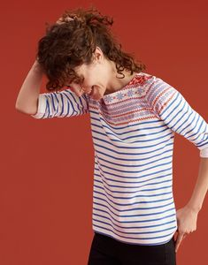 Explore our selection of Harbour Tops and discover our take on the Breton Stripe. Boys Fall Fashion, Autumn Fashion, Joules Clothing, Joules Uk, Stylish Tops, Clothes For Women, Grey, My Style, Winter 2017