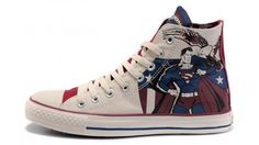 a31a61953293 Converse Shoes Blue White Authentic DC Comics- Superman Chuck Taylor All  Star Womens