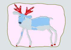 Gebruik de code MOOI en ontvang 10% korting op setje kerstkaarten met rendier van behang!!!