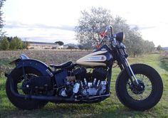 Billedresultat for old school bobber harley davidson