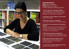 See what Senior Designer Kerry Strickland has to say about working for Milliken, where she finds her inspiration and her top trends for 2014.
