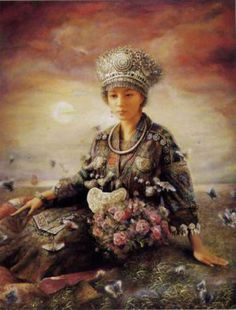 Zhao Chun Chinese Oil Paintings - Fine Art Blogger