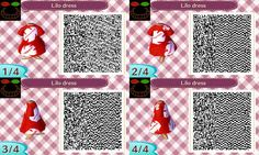 ACNL QR Code - Lilo dress by JessicaIngmann.deviantart.com on @deviantART