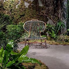 @baxtermadeinitaly is delighted to invite you to #BaxterCinema location during these days at #Fuorisalone2017 to discover their latest collections. MANILA is the new chair designed by @Paola Navone and it is perfect for this setting a kind of urban forest.  #baxter #archiproducts #design