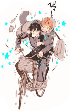 Kageyama & Hinata || http://twitpic.com/dvtfo0 [please do not remove this caption with the source]