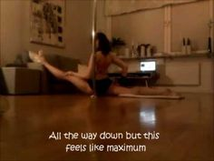at the end --  oversplits stretching