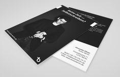 Flyer A6 für TexterBerlin Berlin, Flyer, Grafik Design, Books, Advertising Agency, Libros, Book, Book Illustrations, Libri