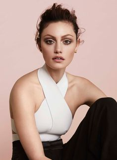 Phoebe Tonkin black and white #editorial #style #fashion