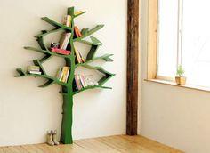 Tree Bookshelf Design furniture furnishings design and decor decor home design directory south africa Tree Bookshelf, Tree Shelf, Bookshelf Design, Book Shelves, Bookshelf Ideas, Book Storage, Storage Room, Nursery Bookshelf, Bookshelf Plans