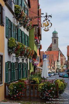 Dinkelsbühl, #Germany (by Paul Seele on Flickr)