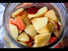 Σπιτικό μηλόξυδο - Φτιάχνω μηλόξυδο - YouTube Fruit Salad, Potatoes, Healthy Recipes, Vegetables, Food, Youtube, Art, Art Background, Fruit Salads