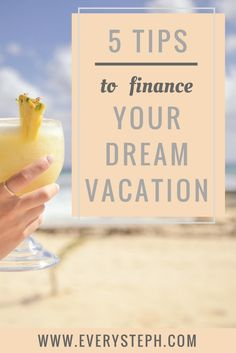 Here are 5 tips on how to save money and finally afford the vacation of your dreams.