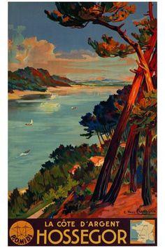 vintage ocean prints