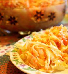gotuj się do gotowania!: Chińska surówka z białej kapusty