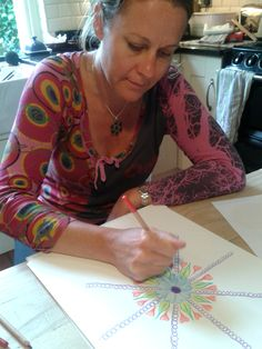 One to One Mandala session July 2014  I offer one to one Mandala sessions. An opportunity for creativity, healing, time for you.  If you are interested, please contact me at: eleanorbennettarts@gmail.com / 07531797809