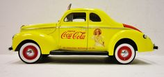 Coca-Cola & Danbury Mint 1940 Ford Salesman's Car