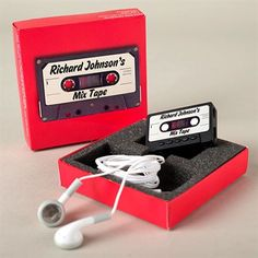 Mix Tape MP3 Player, Personalise For A Loved One | GettingPersonal.co.uk