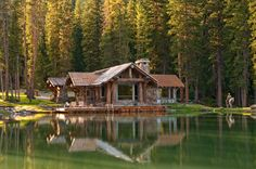 Headwaters Camp Cabin, Big Sky, Montana - Private Residence - traditional - exterior - other metro - Dan Joseph Architects