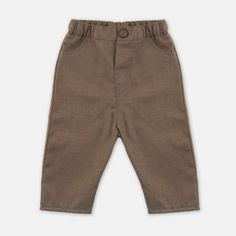 spodnie casual brązowe