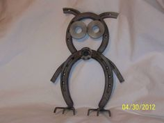 Primitive Garden Folk art Little Hoot the metal by muckswaz, $31.50