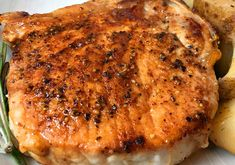 Instant Pot Pork Chops Thick-cut, bone-in pork chops cooked to perfection in an Instant Pot. With a delicious, simple rub and just a few minutes on the saute setting, they are then pressure cooked to tender perfection. Pork Chops Bone In, Thick Cut Pork Chops, Center Cut Pork Chops, Smoked Pork Chops, Pork Chops Instant Pot Recipe, Chops Recipe, Pressure Cooker Recipes, Pressure Cooking, Slow Cooker