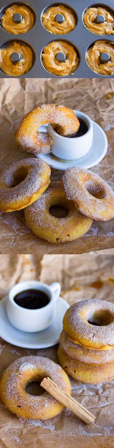 Enjoy in fall's favorite flavors with these Pumpkin Spice Baked Doughnuts. Easy to make, lighter than fried doughnuts are a delicious treat everyone loves!