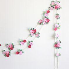 guirlande de fleurs-High Walls-1