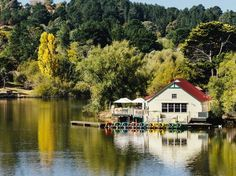 """Located about an hour and a half northwest of Melbourne, Daylesford is home to more than 60 mineral springs—the largest concentration of natural mineral springs in Australia. The town is filled with alternative therapy services and day spas, the most popular being the Hepburn Bathhouse and Spa, which allows you to """"take the waters,"""" as locals say, through various healing therapeutic salt pools. You don't stop at just soaking: Go right ahead and drink the waters at Sailors Falls and…"""