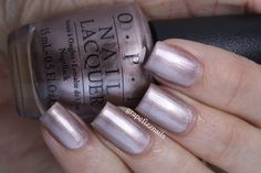 OPI Press * for Silver (from Grape Fizz Nails)