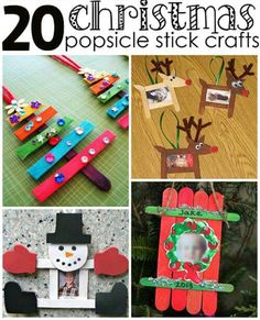 Christmas Popsicle Stick Crafts for Kids to Make - Crafty Morning by rebecca thomas-ewing Popsicle Stick Crafts For Kids, Christmas Crafts For Kids To Make, Christmas Activities, Xmas Crafts, Craft Stick Crafts, Kids Christmas, Popsicle Sticks, Craft Ideas, Craft Sticks