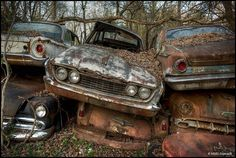 US Car Graveyard by Martino