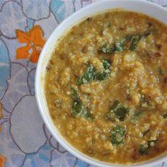 Oh She Glows Cookbook  Lentil-Cauliflower Soup