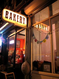 BAKERY for a yummy dessert treat