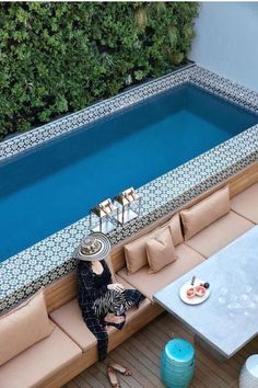 Welcoming Pool Deck Seating Areas A patio or backyard with a swimming pool surely feels incomplete without pool deck seating areas.A patio or backyard with a swimming pool surely feels incomplete without pool deck seating areas.