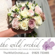 """Thank you so much for doing such a fabulous job with the flowers for our wedding. The venue looked stunning and smelt gorgeous too. We still have the azaleas in the back garden to remind us!  We really enjoyed meeting with you  to pick the flowers and thanks for bearing with us!!"" Nicola."