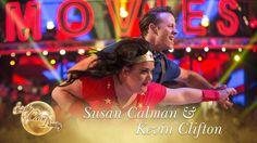 Susan & Kevin Samba to 'Wonder Woman (Theme)' - Strictly Come Dancing 2017