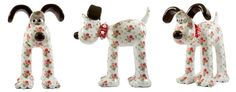 Cath kidston decorated this Gromit as part of the Gromit Unleashed project in Bristol. Raising funds for the children's hospital. There are 80 different Gromits around the city !
