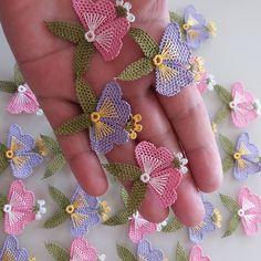 Crochet and Knitting Needle Tatting, Needle Lace, Bobbin Lace, Irish Crochet, Crochet Shawl, Crochet Lace, Simple Embroidery, Hand Embroidery, Embroidery Designs