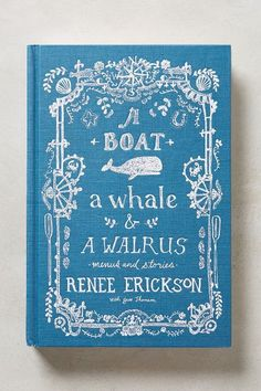 A Boat, A Whale & A Walrus - anthropologie.com #anthrofave