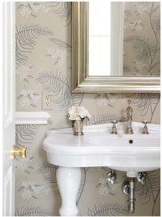 wallpapered bath muse interiors