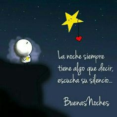 Buenas noches uploaded by maría josé on we heart it Happy Everything, Night Quotes, Dinners For Kids, Spanish Quotes, Hello Everyone, Good Night, Night Night, Namaste, Decir No