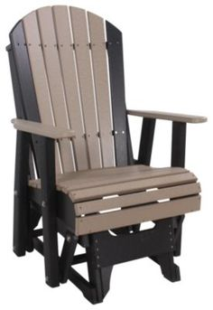 Amish Outdoors Deluxe Adirondack Glider $449.99.   SKU: 823658-P.   http://www.homemakers.com/amish-outdoors-deluxe-adirondack-glider-823658?