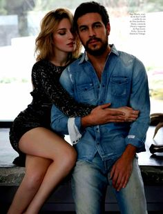 Maria Valverde & Mario Casas by Bernardo Doral for Elle Spain July 2013
