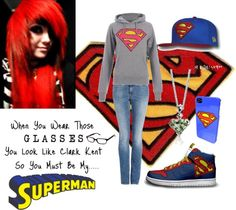 """""""are you my Superman?"""" by hellokitting on Polyvore"""